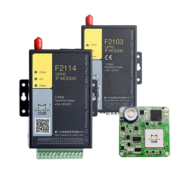 Modem GSM/GPRS/WCDMA (3G)/LTE(4G) kết nối RS-232/485
